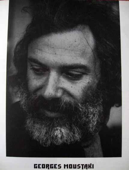Georges moustaki se présente le 22 juillet 1970